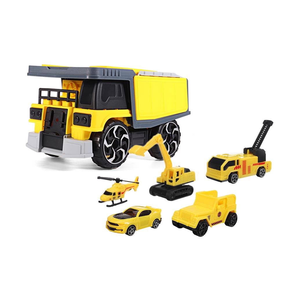diecasts-model-toys Simulation inertia Deformation Track Engineering Vehicle Diecast Car Model Toy with Storage Parking Lot for Kids Birthdays Gift HOB1788624