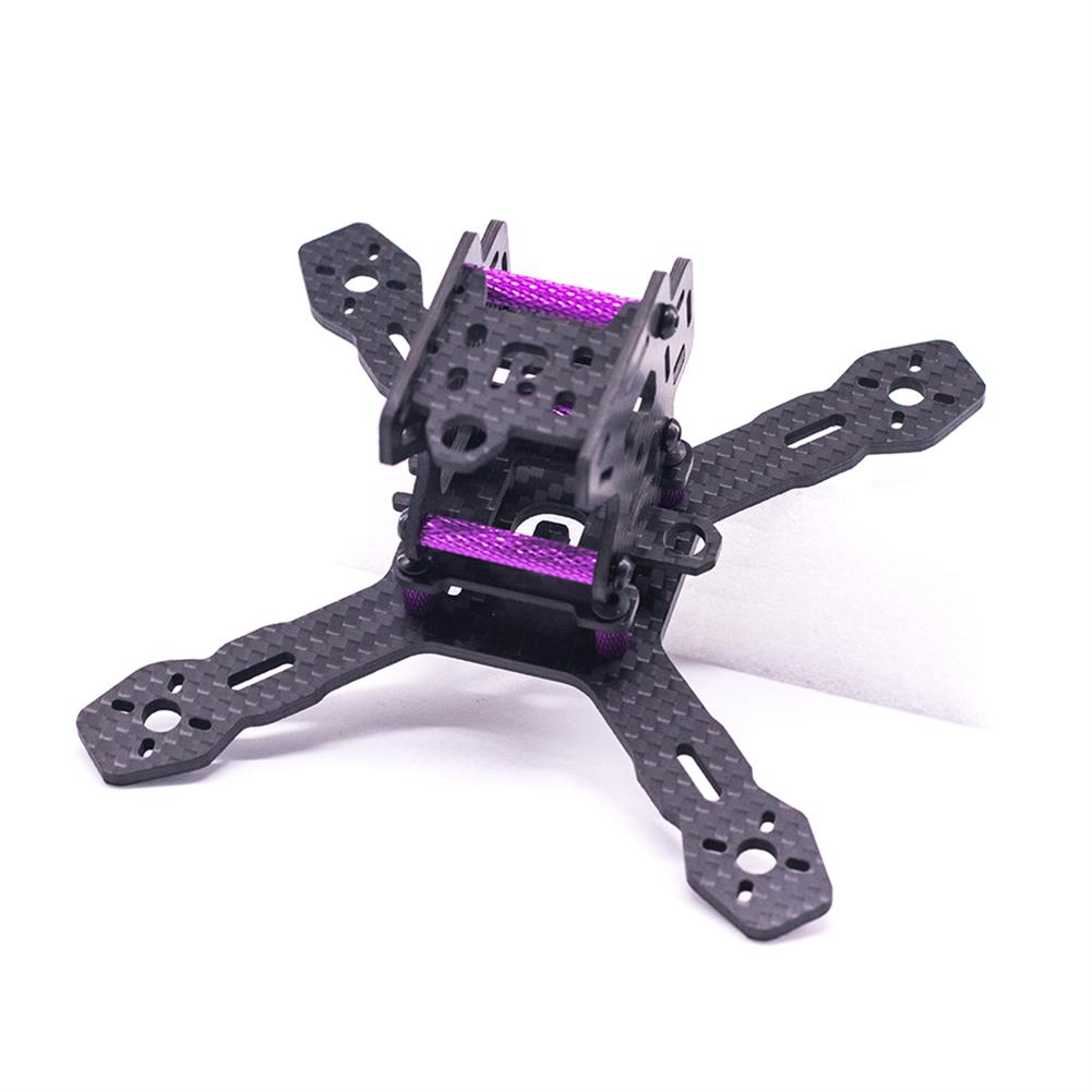 multi-rotor-parts URUAV Cost-E RX130 3inch 130mm Wheelbase Type-X 30.5*30.5mm Mounting Hole Carbon Fiber Frame Kit for RC FPV Racing Drone HOB1789226