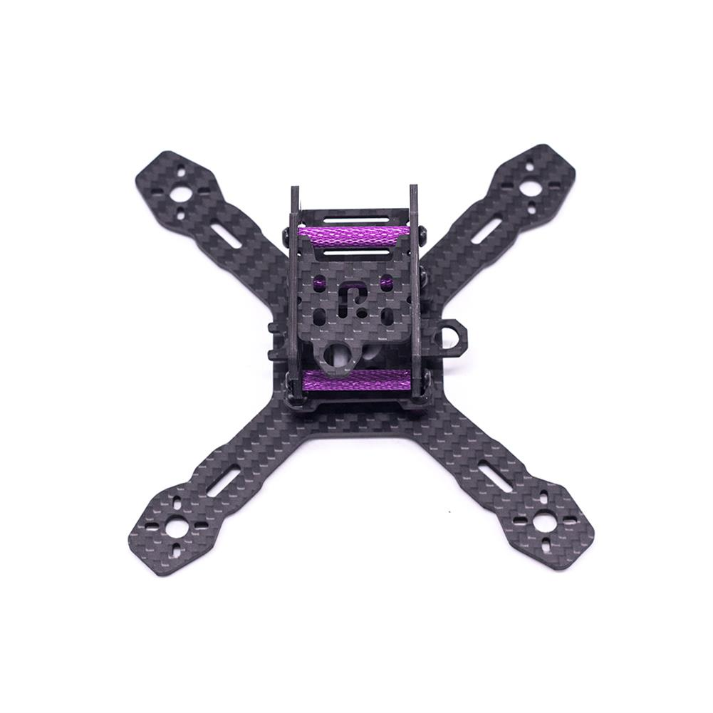 multi-rotor-parts URUAV Cost-E RX130 3inch 130mm Wheelbase Type-X 30.5*30.5mm Mounting Hole Carbon Fiber Frame Kit for RC FPV Racing Drone HOB1789226 1