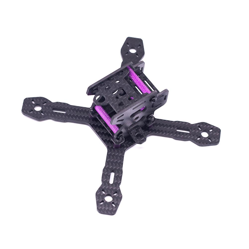 multi-rotor-parts URUAV Cost-E RX130 3inch 130mm Wheelbase Type-X 30.5*30.5mm Mounting Hole Carbon Fiber Frame Kit for RC FPV Racing Drone HOB1789226 2