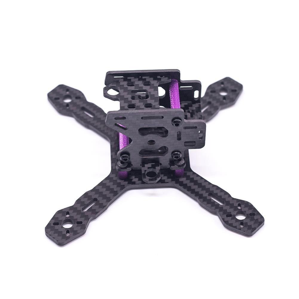 multi-rotor-parts URUAV Cost-E RX130 3inch 130mm Wheelbase Type-X 30.5*30.5mm Mounting Hole Carbon Fiber Frame Kit for RC FPV Racing Drone HOB1789226 3