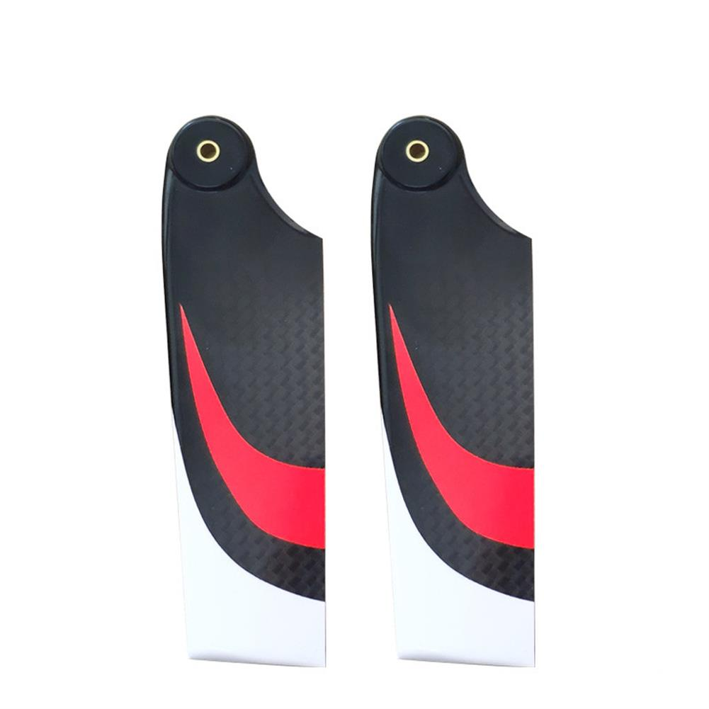 rc-helicopter-parts JDHMBD 95mm Carbon Fiber Tail Blades for Class 600 700 RC Helicopter Align KDS SAB580 RC Helicopter HOB1789285 1