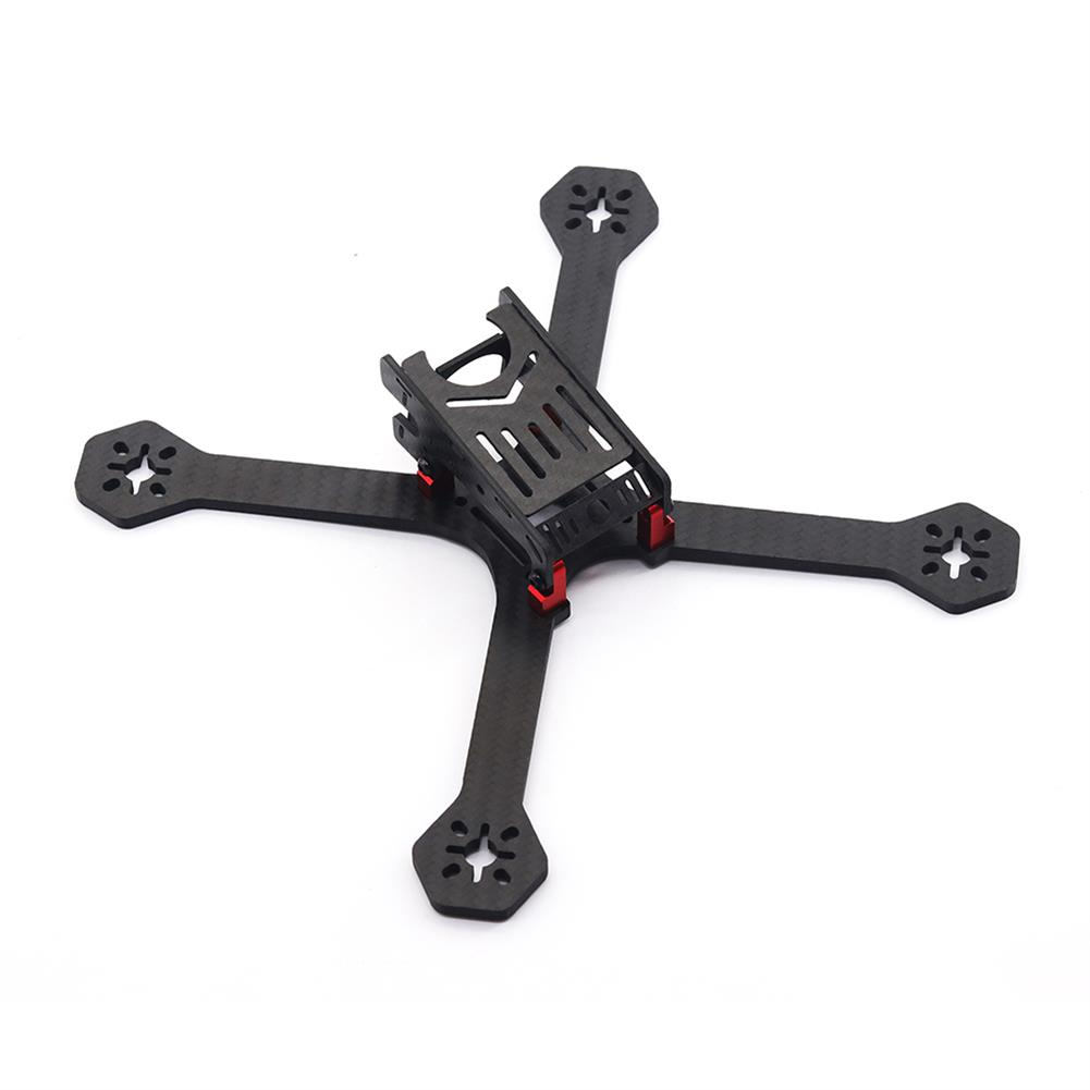 multi-rotor-parts URUAV Cost-E Y 5 inch 200mm Wheelbase Type-H 20*20mm/30.5*30.5mm Mounting Hole Carbon Fiber Frame Kit for RC Drone FPV Racing HOB1789319 1