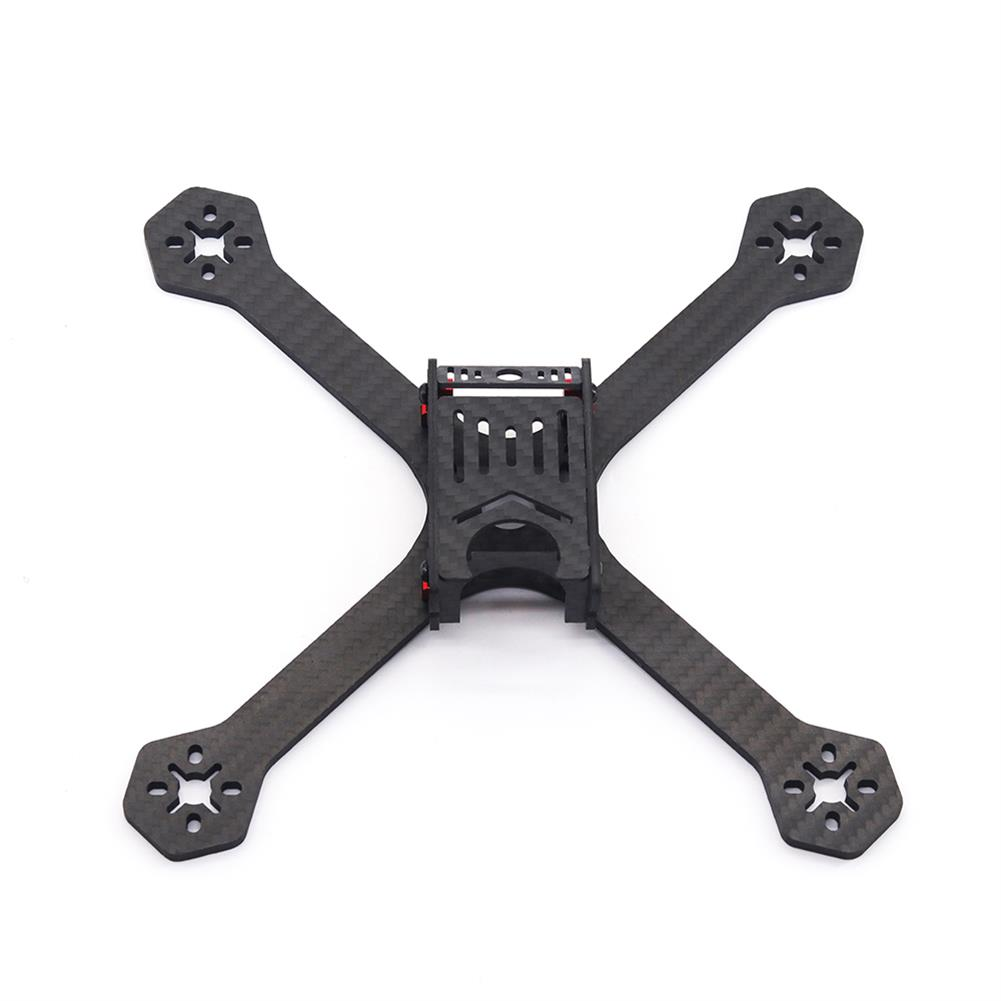 multi-rotor-parts URUAV Cost-E Y 5 inch 200mm Wheelbase Type-H 20*20mm/30.5*30.5mm Mounting Hole Carbon Fiber Frame Kit for RC Drone FPV Racing HOB1789319 2
