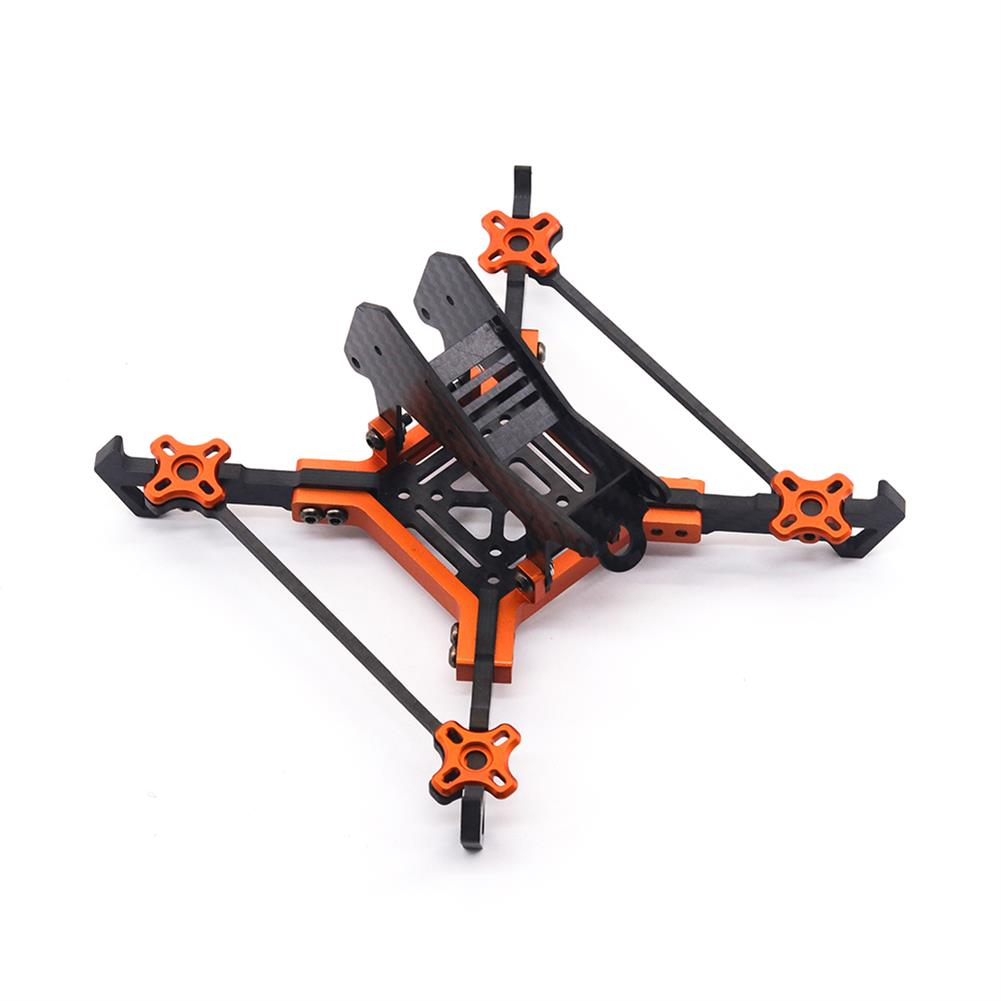 multi-rotor-parts URUAV Cost-E AMO 5 inch 215mm Wheelbase Type-H 20*20mm/30.5*30.5mm Mounting Hole Carbon Fiber Frame Kit for RC Drone FPV Racing HOB1789328 1