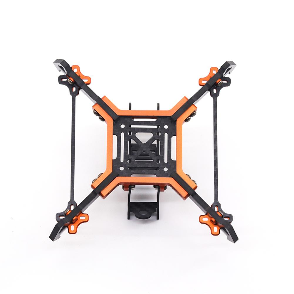 multi-rotor-parts URUAV Cost-E AMO 5 inch 215mm Wheelbase Type-H 20*20mm/30.5*30.5mm Mounting Hole Carbon Fiber Frame Kit for RC Drone FPV Racing HOB1789328 2