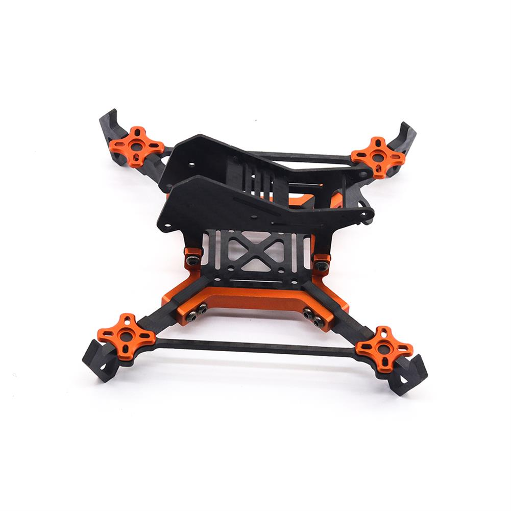 multi-rotor-parts URUAV Cost-E AMO 5 inch 215mm Wheelbase Type-H 20*20mm/30.5*30.5mm Mounting Hole Carbon Fiber Frame Kit for RC Drone FPV Racing HOB1789328 3