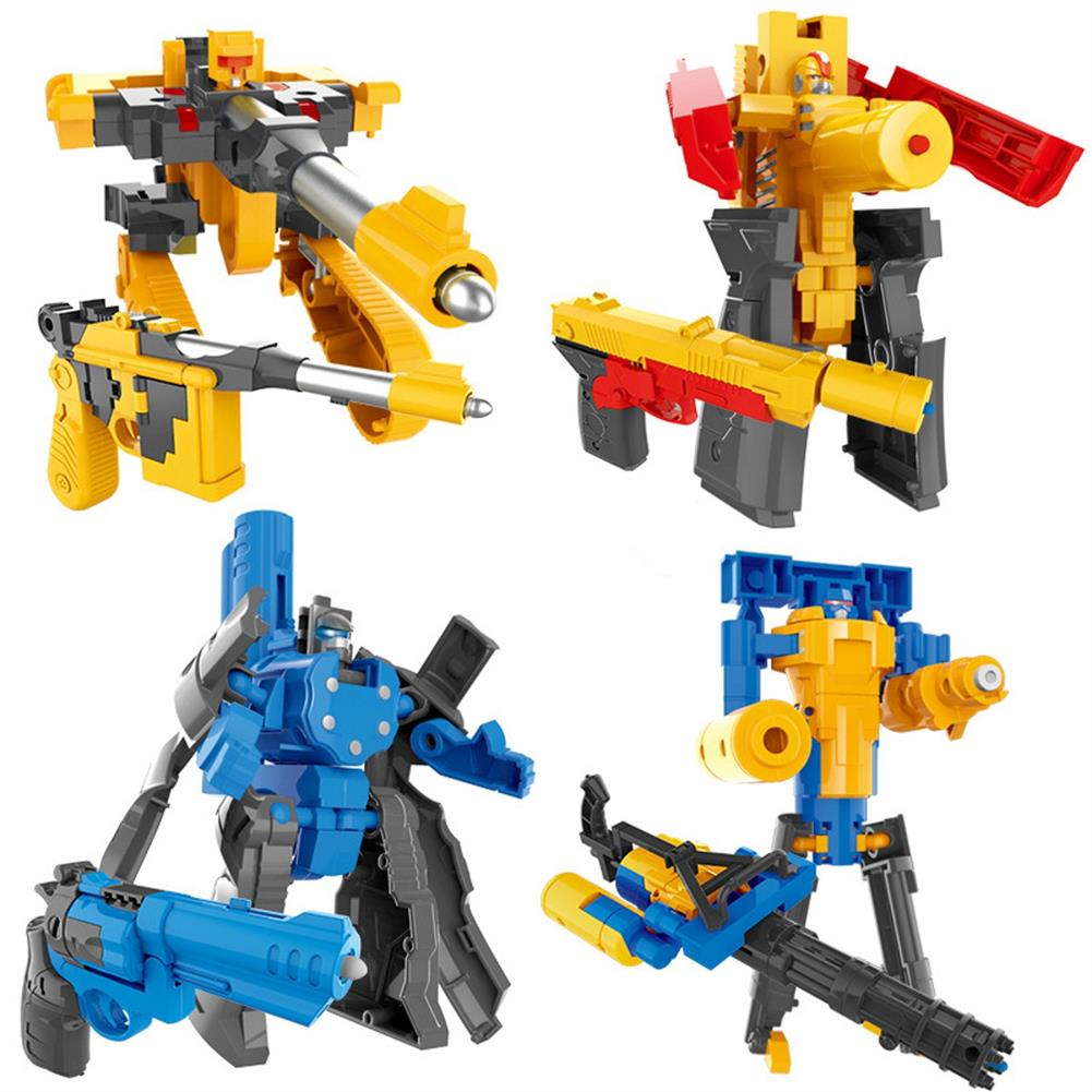 robot-toys Children's Deformation Pistol Robot Toy Puzzle DIY Assembly Toy Christmas Gift HOB1789617