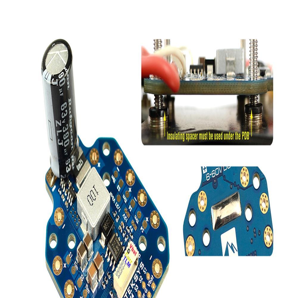 multi-rotor-parts Matek Systems PDB-HEX 12S 2-12S PDB Power Distribution Board 6~60V DC 5A 5V/9V/12V for RC Drone FPV Racing Multirotor HOB1790098 3