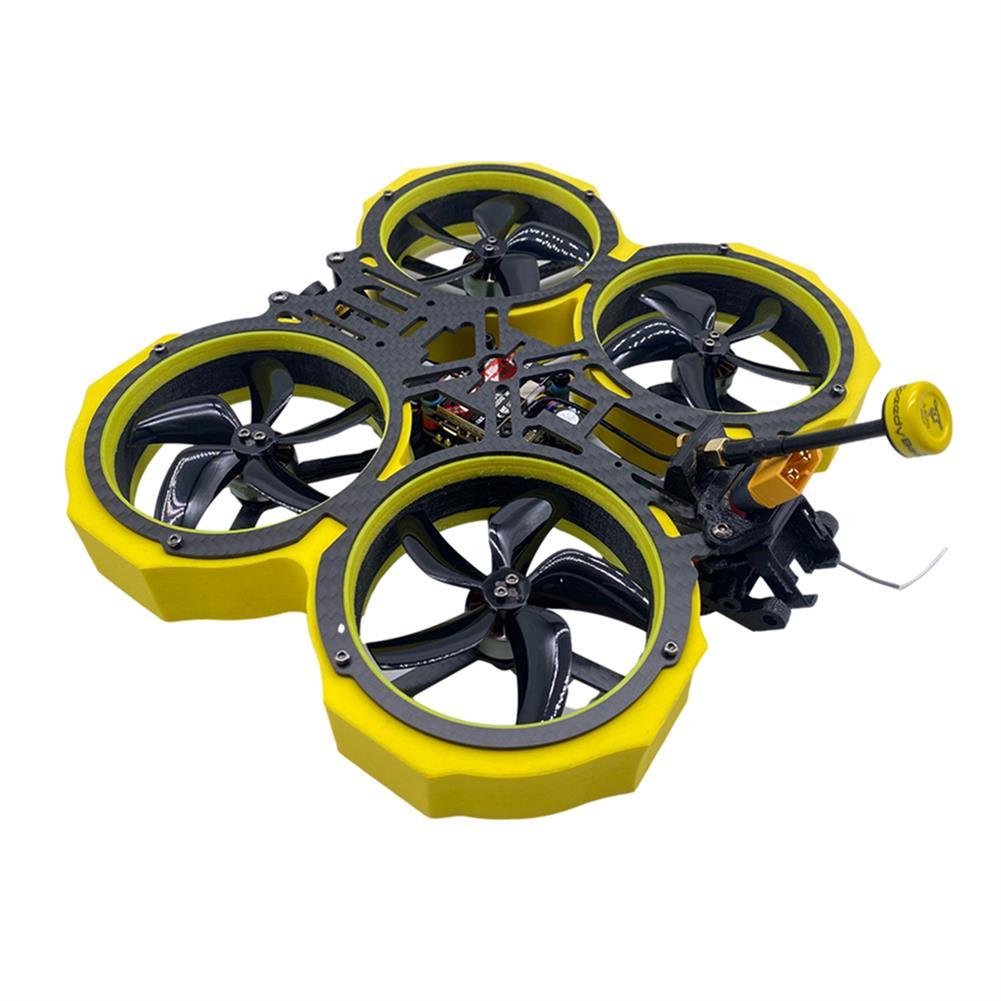 fpv-racing-drone AuroraRC MAMFU24 4-6S 3 inch 153mm Wheelbase CADDX Retal F7BT BLHeli_S 40A ESC RUSH TANK 800mw Cinewhoop Whoop UAV PNP/BNF RC Drone FPV Racing HOB1790464 1