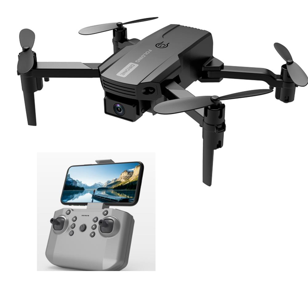 rc-quadcopters 2.4G Mini Drone WIFI FPV with 4K Dual HD Camera 3D Flips Headless Mode Air Pressure Altitude Hold Foldable RC Drone Quadcopter RTF HOB1790504