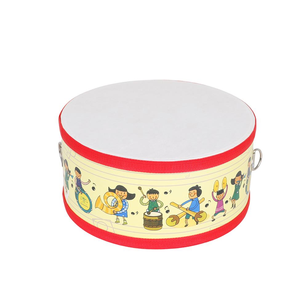 orff-instruments SY-72 Children Small War Drum Double Sided Drum Yellow People Orff Percussion HOB1791119