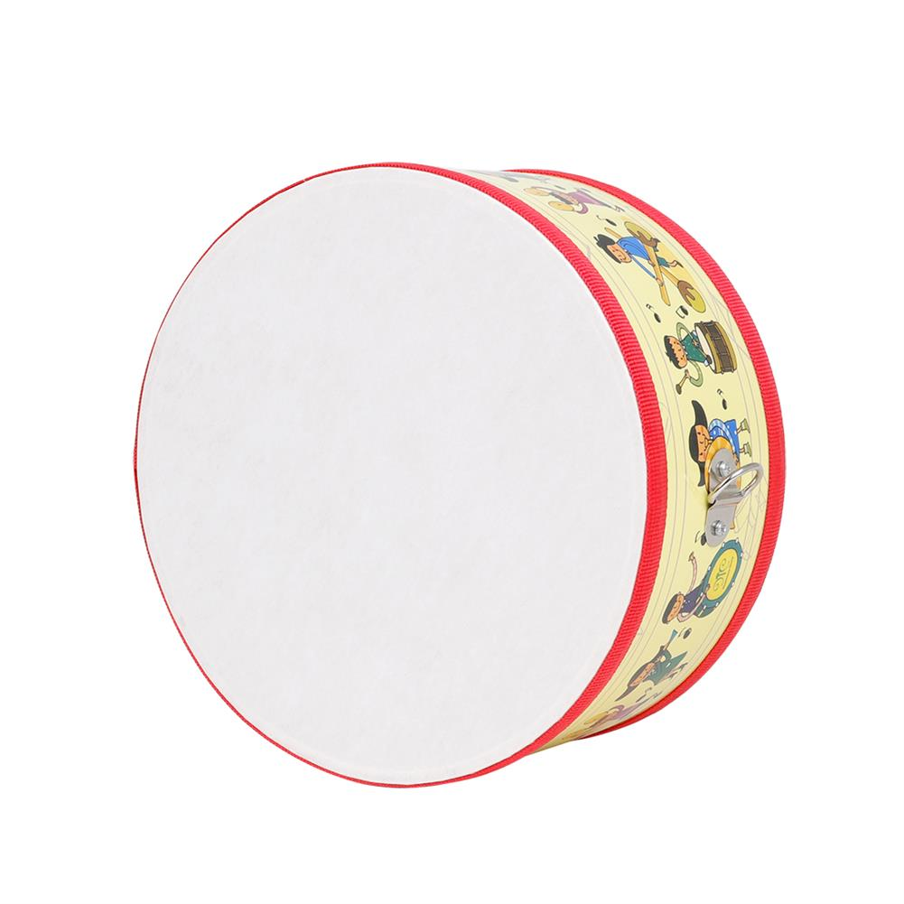 orff-instruments SY-72 Children Small War Drum Double Sided Drum Yellow People Orff Percussion HOB1791119 1