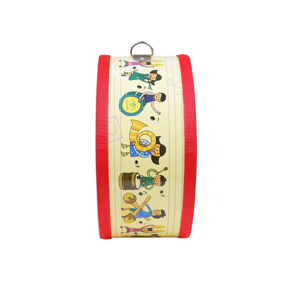 orff-instruments SY-72 Children Small War Drum Double Sided Drum Yellow People Orff Percussion HOB1791119 2