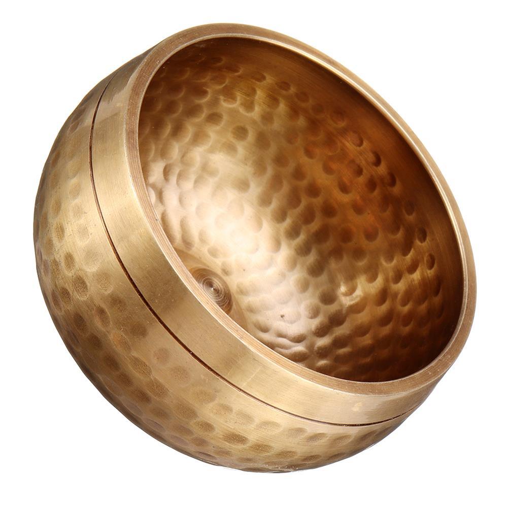folk-world-percussion lingam Lin Pattern Singing Bowl Pure Copper Buddhas Sound Bowl HOB1791179 3