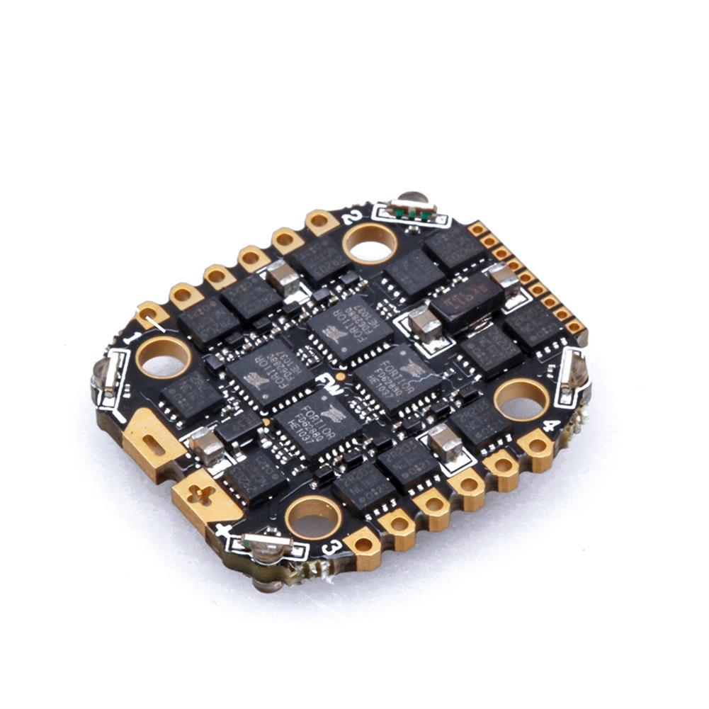 multi-rotor-parts 16x16mm Flywoo GOKU BS 20A 2-4S / 35A 2-6S BLHeli_S 4in1 Brushless ESC Built-in WS2812 LED for Ultralight 3-5 inch RC Drone FPV Racing HOB1792031