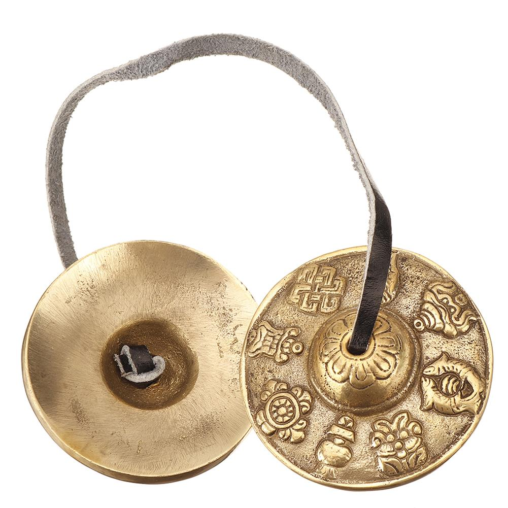 folk-world-percussion PL-Y Handmade Pure Copper Hand Touch Bell Percussion instrument HOB1792335 1