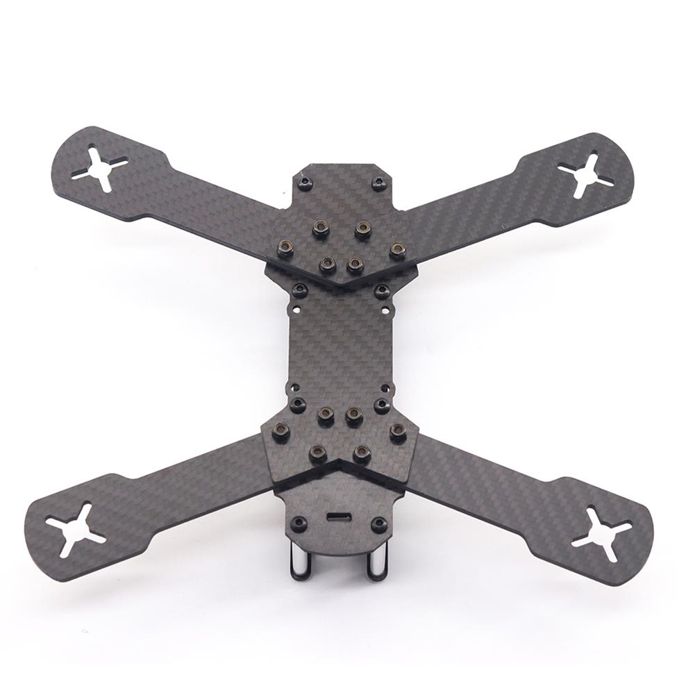 multi-rotor-parts URUAV Cost-E T 5 inch 210mm Wheelbase Type-H Carbon Fiber Frame Kit for RC FPV Racing Drone Parts 30.5*30.5mm/20*20mm Mounting Holes HOB1792532 2