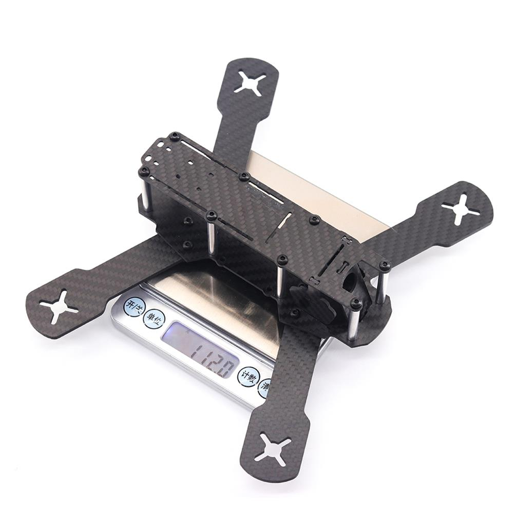 multi-rotor-parts URUAV Cost-E T 5 inch 210mm Wheelbase Type-H Carbon Fiber Frame Kit for RC FPV Racing Drone Parts 30.5*30.5mm/20*20mm Mounting Holes HOB1792532 3