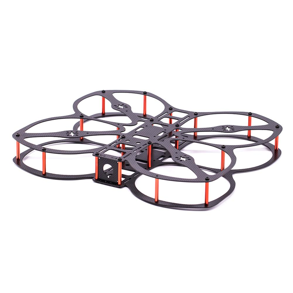 multi-rotor-parts URUAV Cost-E CW 5 inch 220mm Wheelbase Frame Kit 20*20mm/30.5*30.5mm Mounting Holes for RC FPV Racing Drone Parts HOB1792538