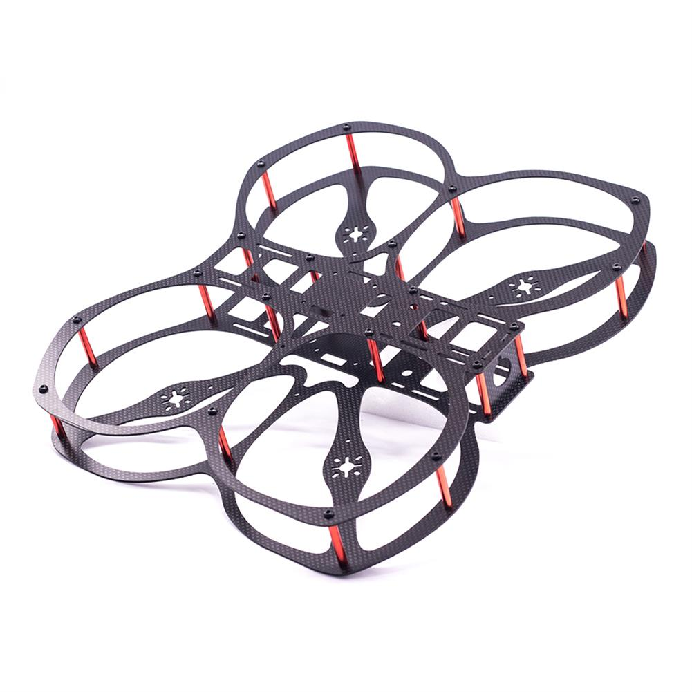 multi-rotor-parts URUAV Cost-E CW 5 inch 220mm Wheelbase Frame Kit 20*20mm/30.5*30.5mm Mounting Holes for RC FPV Racing Drone Parts HOB1792538 1