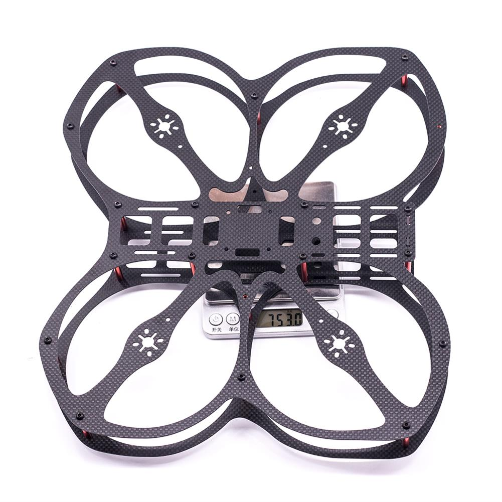 multi-rotor-parts URUAV Cost-E CW 5 inch 220mm Wheelbase Frame Kit 20*20mm/30.5*30.5mm Mounting Holes for RC FPV Racing Drone Parts HOB1792538 3