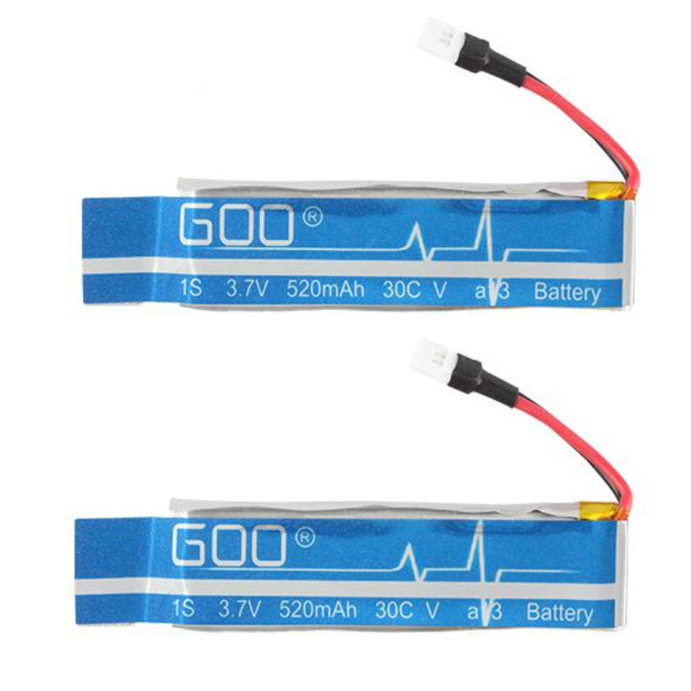 rc-helicopter-parts 3.7V 520mAh 30C Lipo Battery for WLtoy V977 K110 Walkera RC Helicopter HOB1793325