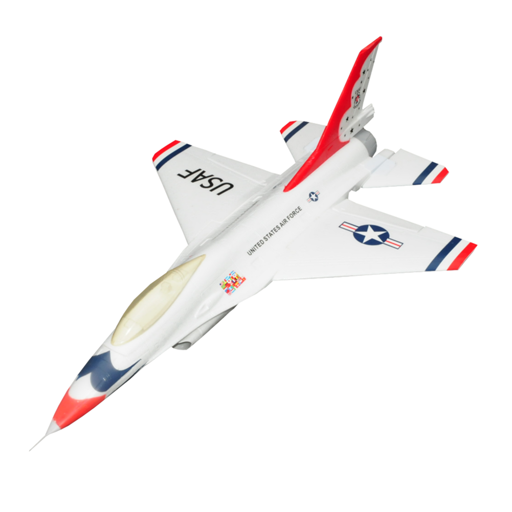 rc-airplane F16 750mm Wingspan EPO Material Ducted Fan EDF Jet Warbird RC Airplane KIT HOB1793376