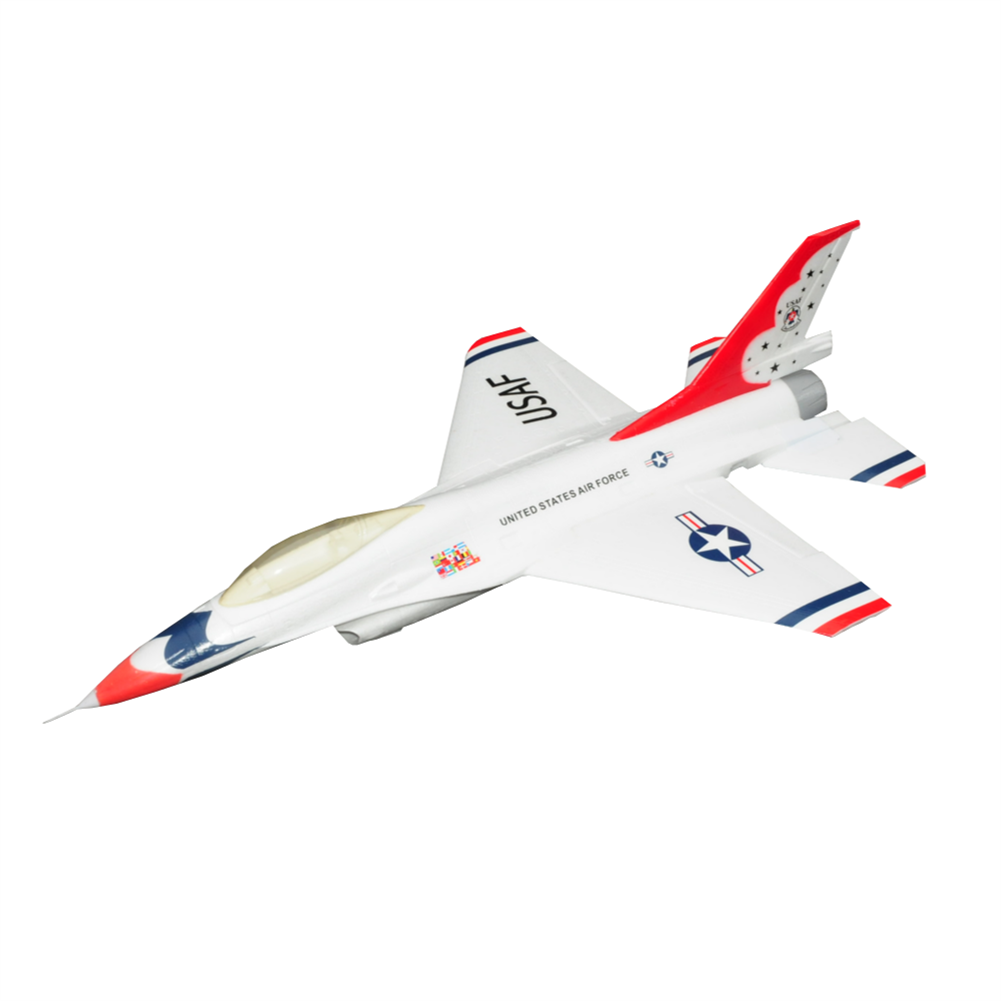 rc-airplane F16 750mm Wingspan EPO Material Ducted Fan EDF Jet Warbird RC Airplane KIT HOB1793376 1