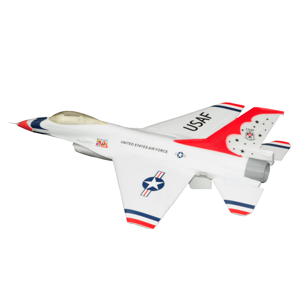 rc-airplane F16 750mm Wingspan EPO Material Ducted Fan EDF Jet Warbird RC Airplane KIT HOB1793376 2