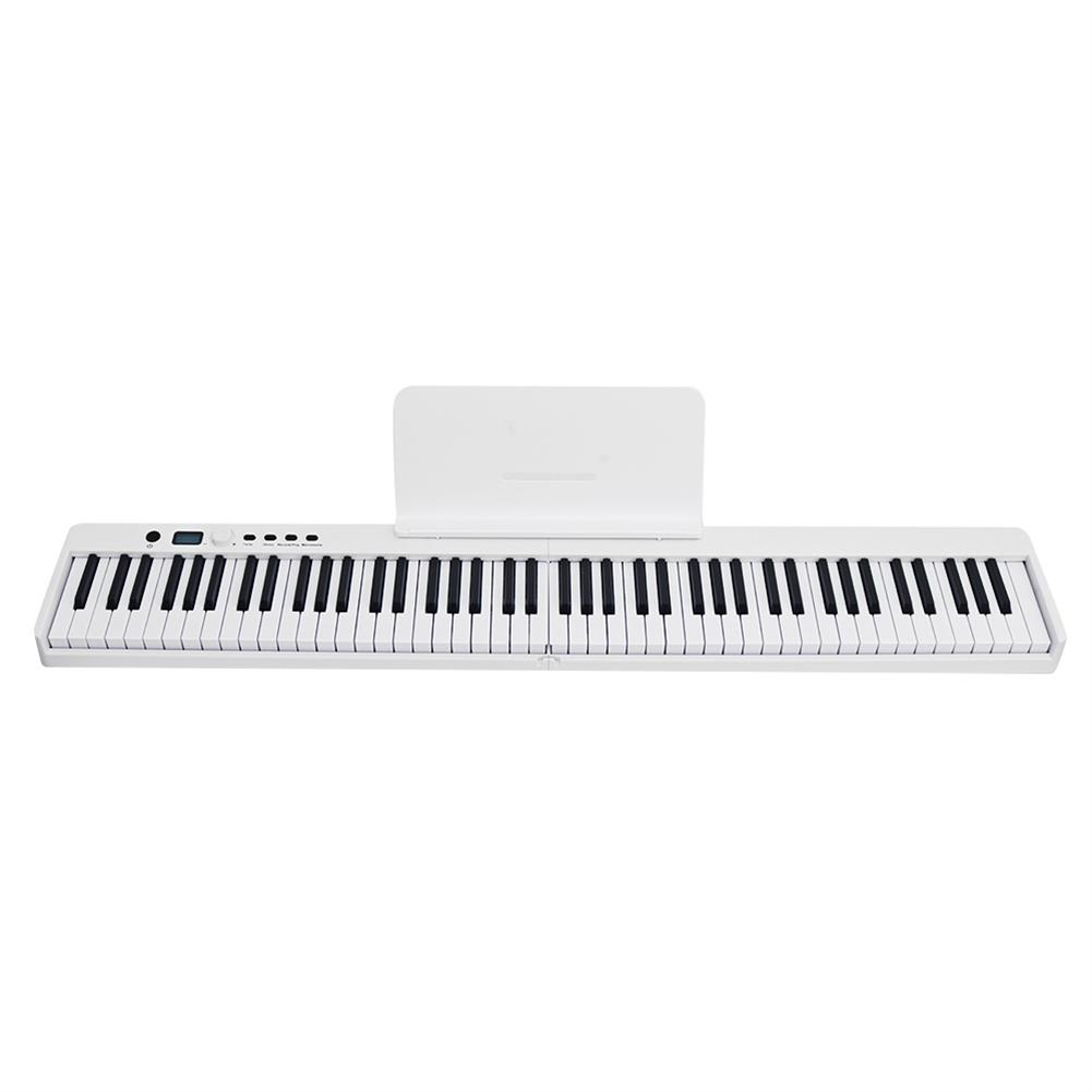 electronic-keyboards BORA BX-20 Portable 88-Key Folding Digital Piano Keyboard Rechargeable Battery with Sustain Pedal Piano Bag HOB1794742 1
