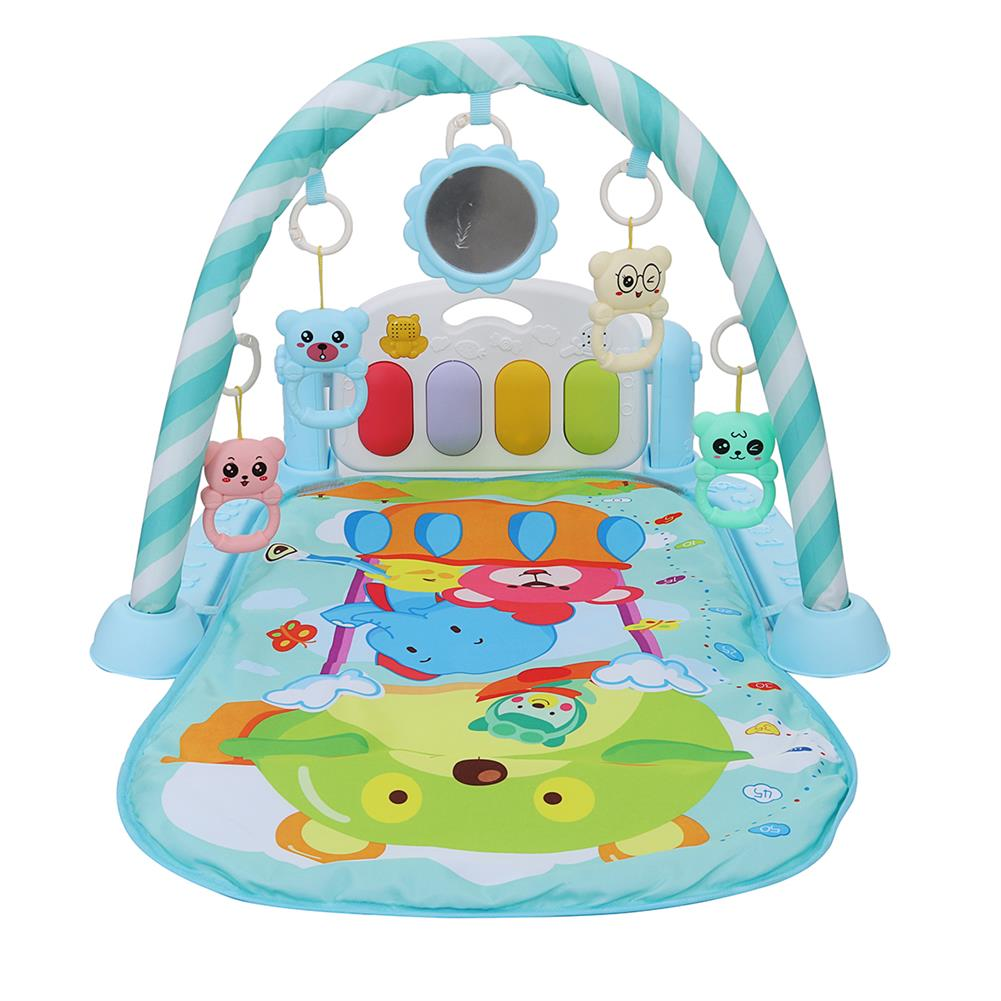 baby-rattles-mobiles Baby Music Rack Play Mat Kid Rug Puzzle Carpet Piano Keyboard infant Playmat Early Education Gym Crawling Game Pad Toy HOB1795049 1