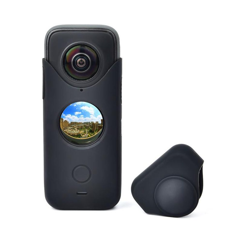 fpv-system STARTRC Silicone Case Soft Cover Shell Dustproof Lens Cover Protector for insta360 ONE X2 FPV Camera HOB1795383