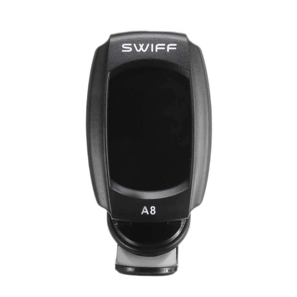 guitar-accessories SWIFF A8-CS Electric Clip-on Music Guitar Tuner for Ukulele Tuner for Bass HOB1797055 1