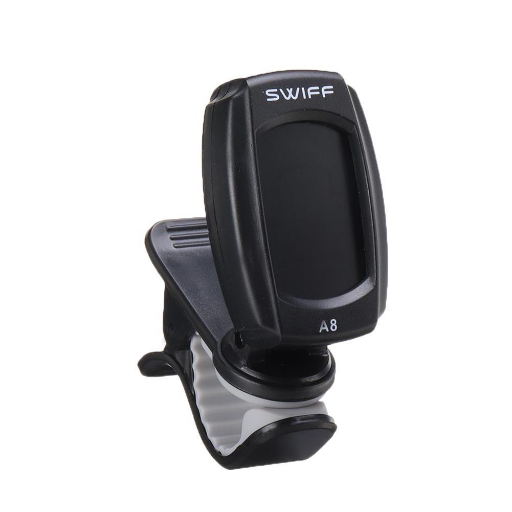 guitar-accessories SWIFF A8-CS Electric Clip-on Music Guitar Tuner for Ukulele Tuner for Bass HOB1797055 2