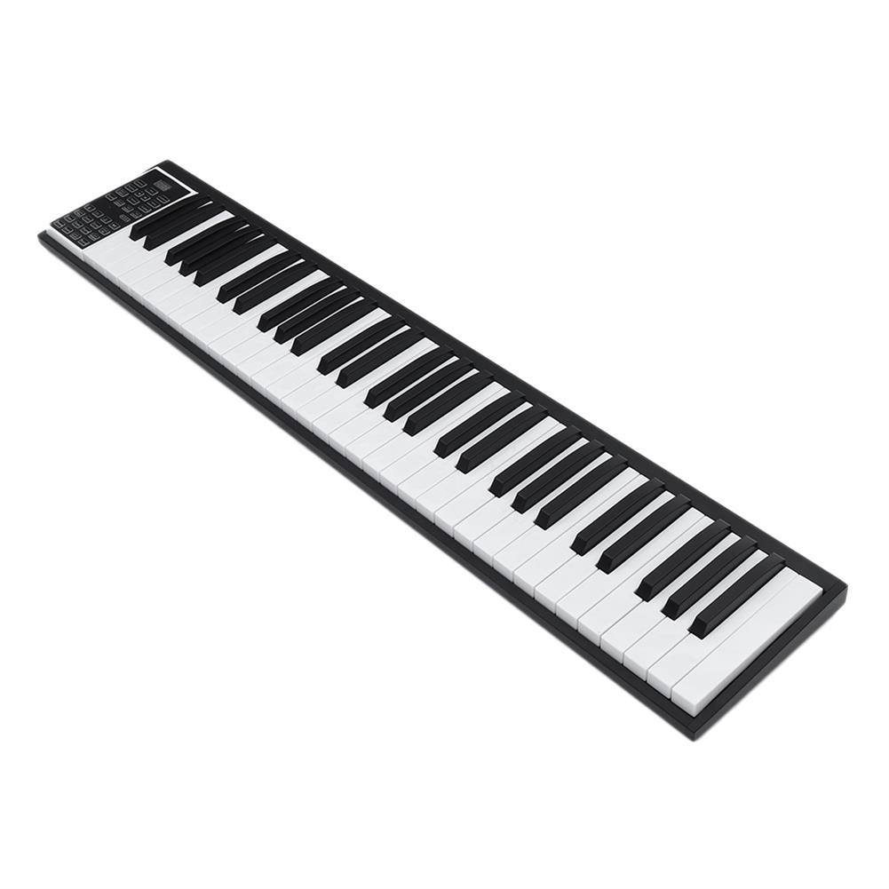 electronic-keyboards HUASKY KD08 Pro 49/61/88 Keys Mobile Portable Electric Digital Piano Electric Keyboard HOB1797382 2