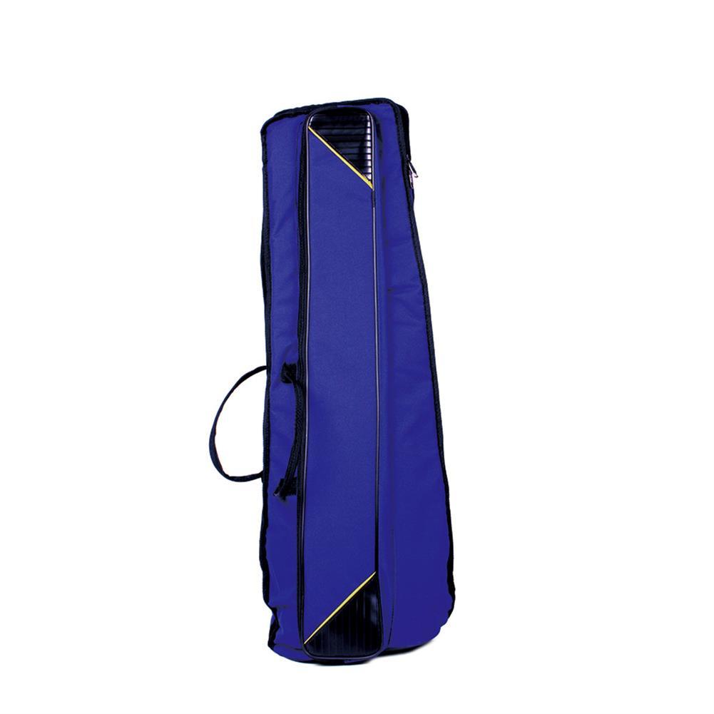 woodwind-brass-accessories Portable Oxford Cloth 10or Trombone Backpack Add Sponge instrument Shoulder Bag Waterproof Blue / Red / Black HOB1797429 1