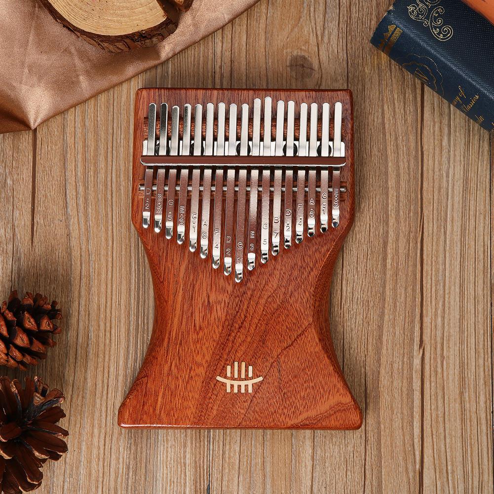 kalimba 17 Key Kalimba Finger Thumb Piano Wood instrument Kit Bag Tuner Hammer Songbook HOB1797435