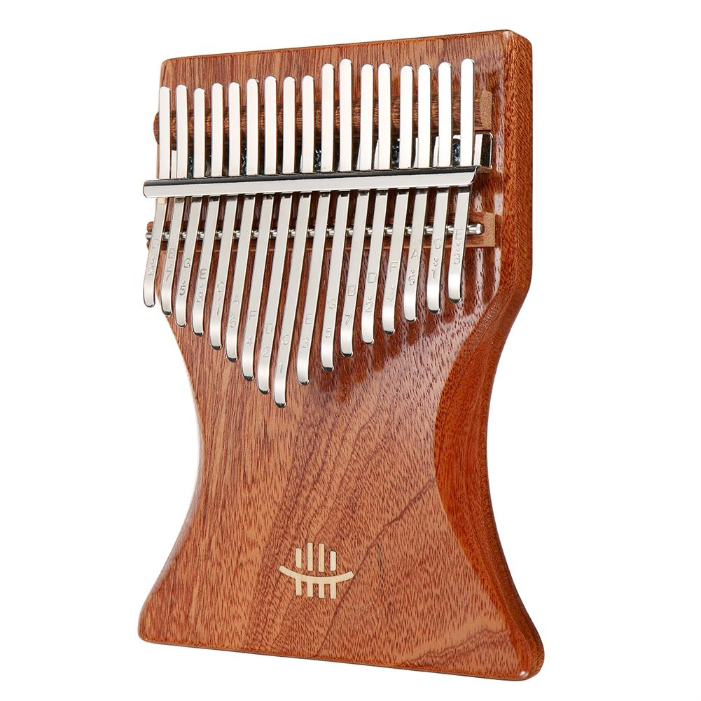kalimba 17 Key Kalimba Finger Thumb Piano Wood instrument Kit Bag Tuner Hammer Songbook HOB1797435 1