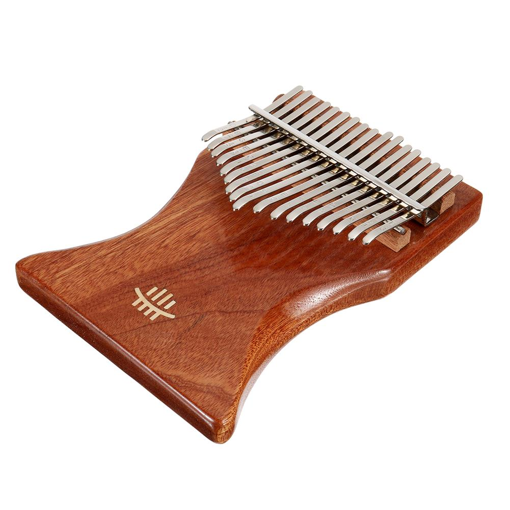 kalimba 17 Key Kalimba Finger Thumb Piano Wood instrument Kit Bag Tuner Hammer Songbook HOB1797435 2