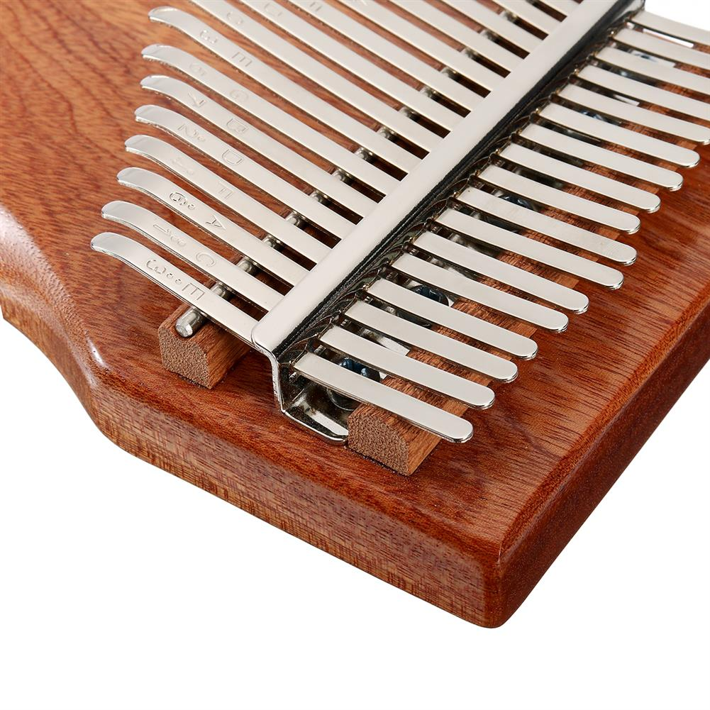 kalimba 17 Key Kalimba Finger Thumb Piano Wood instrument Kit Bag Tuner Hammer Songbook HOB1797435 3