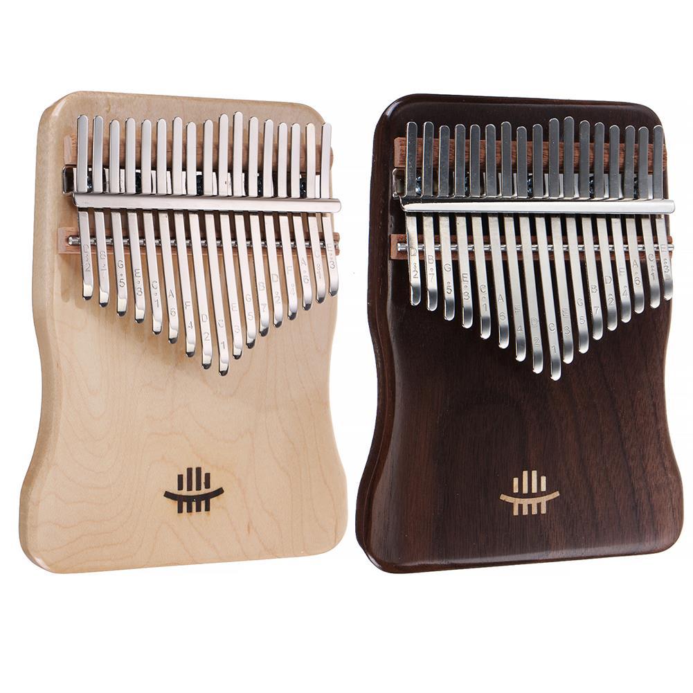 kalimba 17 Key Kalimba Finger Hand Piano Mahogany Thumb Piano Wood Music instrument Kit HOB1797443