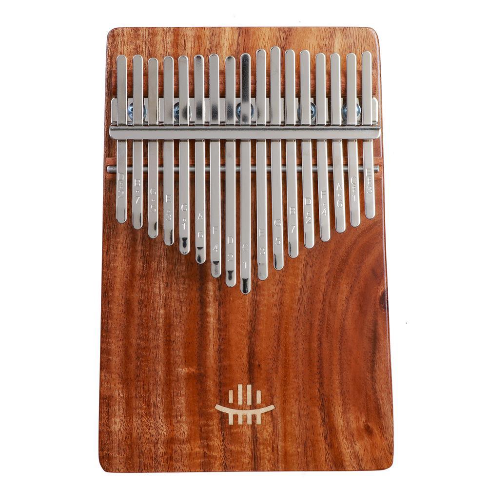 kalimba HLURU 17 Key Kalimba Finger instrument Thumb Piano Song Book Stickers Kalimba Kit +Bag HOB1797446 1