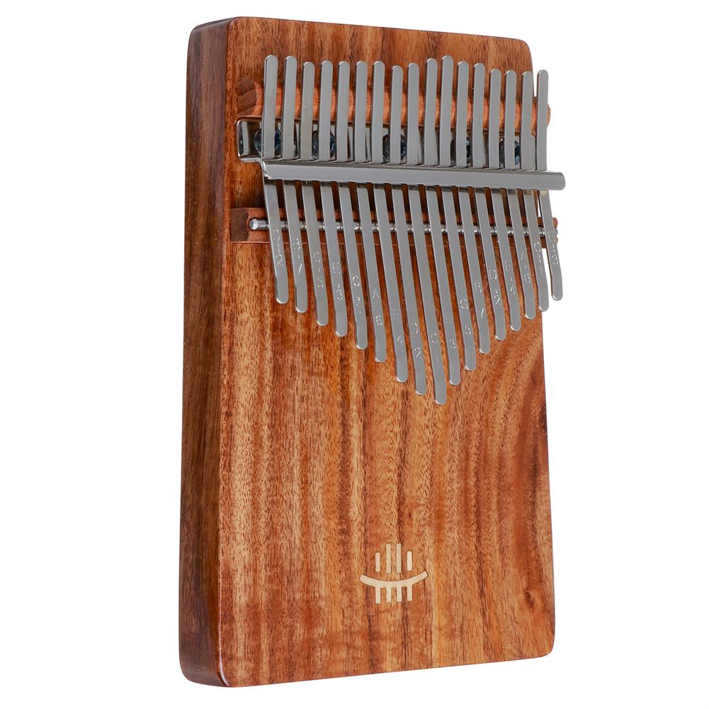 kalimba HLURU 17 Key Kalimba Finger instrument Thumb Piano Song Book Stickers Kalimba Kit +Bag HOB1797446 2