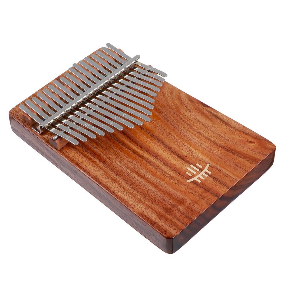 kalimba HLURU 17 Key Kalimba Finger instrument Thumb Piano Song Book Stickers Kalimba Kit +Bag HOB1797446 3