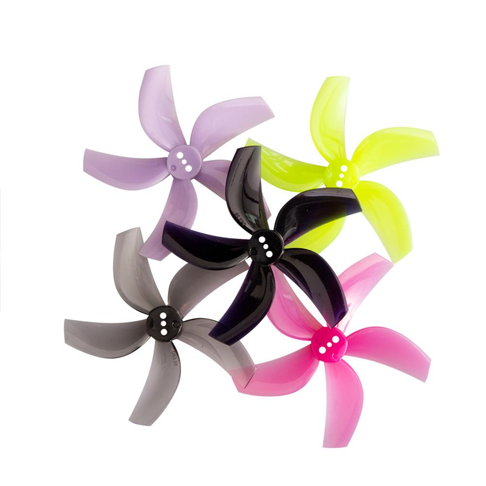 multi-rotor-parts 4 Pairs Gemfan D63 2.5 inch 5-Blade Duct Propeller 1.5mm Hole for CineWhoop RC Drone FPV Racing HOB1797579