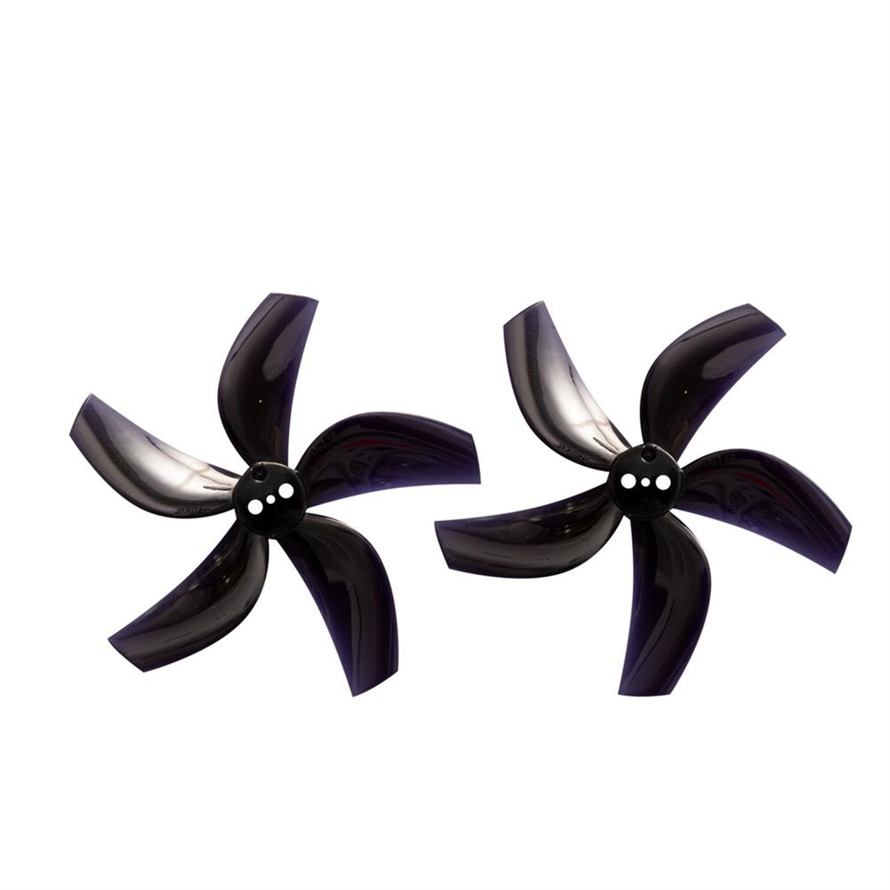 multi-rotor-parts 4 Pairs Gemfan D63 2.5 inch 5-Blade Duct Propeller 1.5mm Hole for CineWhoop RC Drone FPV Racing HOB1797579 2