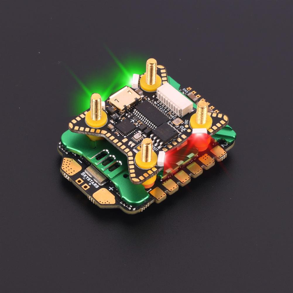multi-rotor-parts 20x20mm Skystars F722HD F7 OSD 3-6S Flight Controller w/ 5V 10V BEC Output & KM45A 45A BL_32 4in1 ESC Stack for DJI Air Unit RC Drone FPV Racing HOB1797669