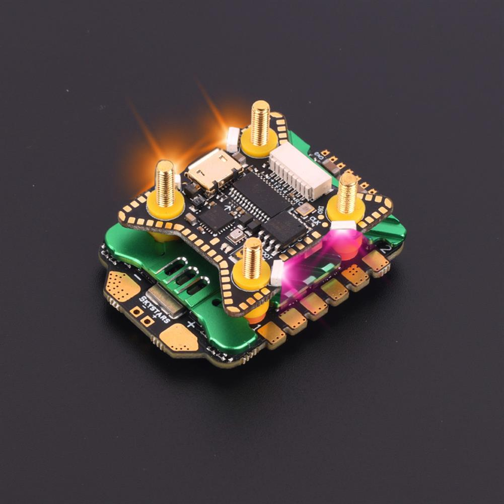 multi-rotor-parts 20x20mm Skystars F722HD F7 OSD 3-6S Flight Controller w/ 5V 10V BEC Output & KM45A 45A BL_32 4in1 ESC Stack for DJI Air Unit RC Drone FPV Racing HOB1797669 1
