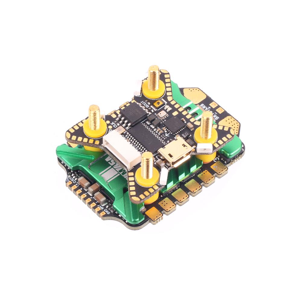 multi-rotor-parts 20x20mm Skystars F722HD F7 OSD 3-6S Flight Controller w/ 5V 10V BEC Output & KM45A 45A BL_32 4in1 ESC Stack for DJI Air Unit RC Drone FPV Racing HOB1797669 2
